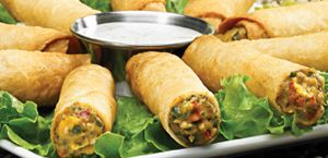 Ruby Tuesday Restaurant Copycat Recipes: Southwestern Spring Rolls...Bake in wonton cups instead of frying??  Easy appetizer.