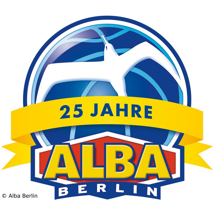 Alba Berlin Logo   Alba Berlin Logo 25 Jahre