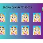 Review smartboard game.  Pick a groovy girl to go to question page.  Factor quadratic equation to find the roots.  Click on the peace sign to revea...