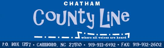 Chatham County Line - Where all voices are heard -- Read Jeff Davidson's regular contributions