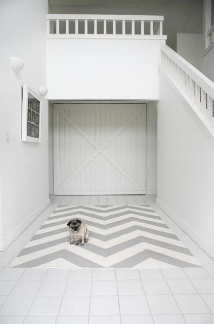 Transformer un tapis Ikea en joli tapis à chevrons ...                                                                                                                                                                                 Plus
