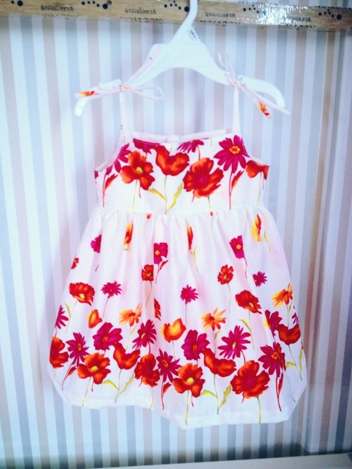 summer baby dress style no.1