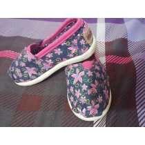 Bellos Zapatos Para Niña Tipo Cocuiza Talla 22