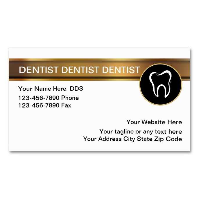 17 Best images about Dental Dentist Business Cards on Pinterest ...