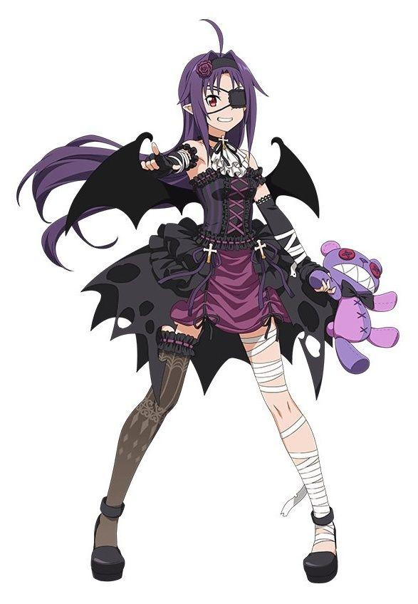 Yuuki (ALO)  – Sword Art Online ~ Charakter Art (Official)