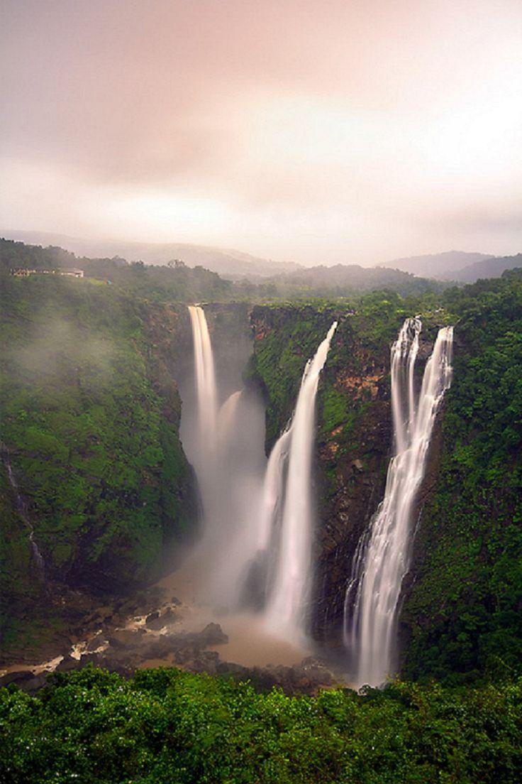 The Jog Falls, India Sasi Vardhan! Wow.- Little Passports #littlepassports #jogfalls #india