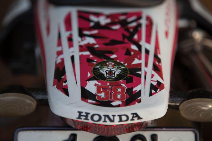 Custom designed Honda XR400-SM