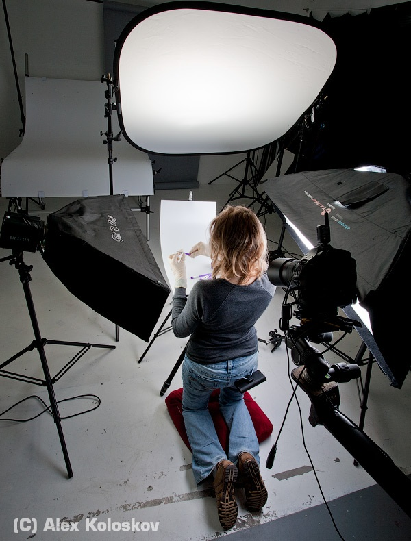 small studio lighting. COSMETIC I Lighting For Small Product Photography: Shooting Cosmetic Brushes. Studio N
