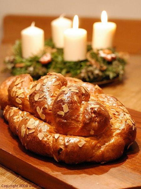 Vanocka -- Czech Christmas Bread