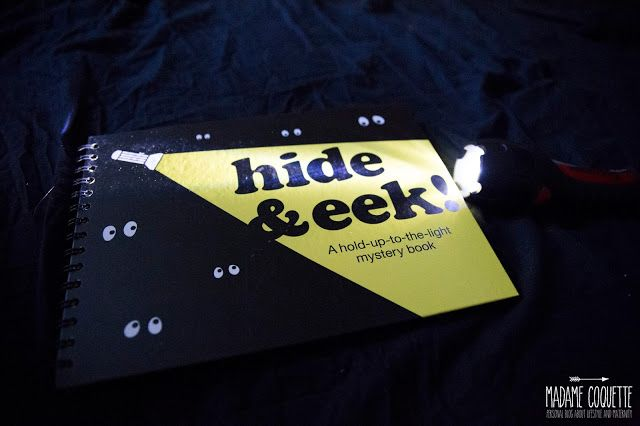 hide & eek, knizka do tmy