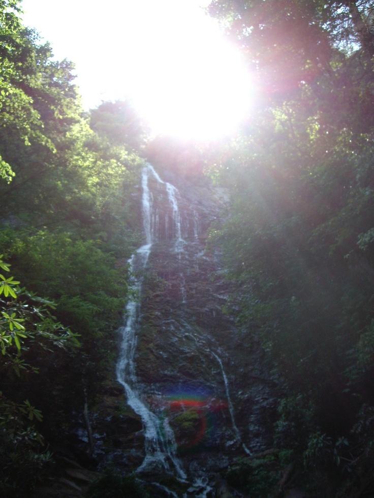 Mingo Falls, Cherokee Reservation, NC