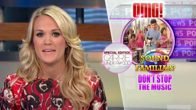 Carrie Underwood 'GMA' 2013: Country Music Star Delivers 'Pop News' for 'GMA - ABC News video
