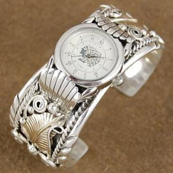 Navajo Watches Beautifully Hand Crafted And Signed Certified Authentic