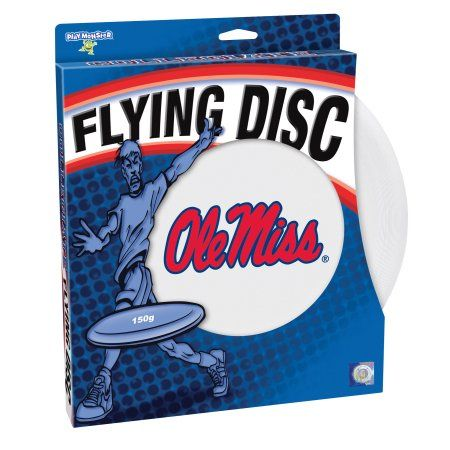 Officially Licensed Ncaa Ole Miss Flying Disc, Multicolor