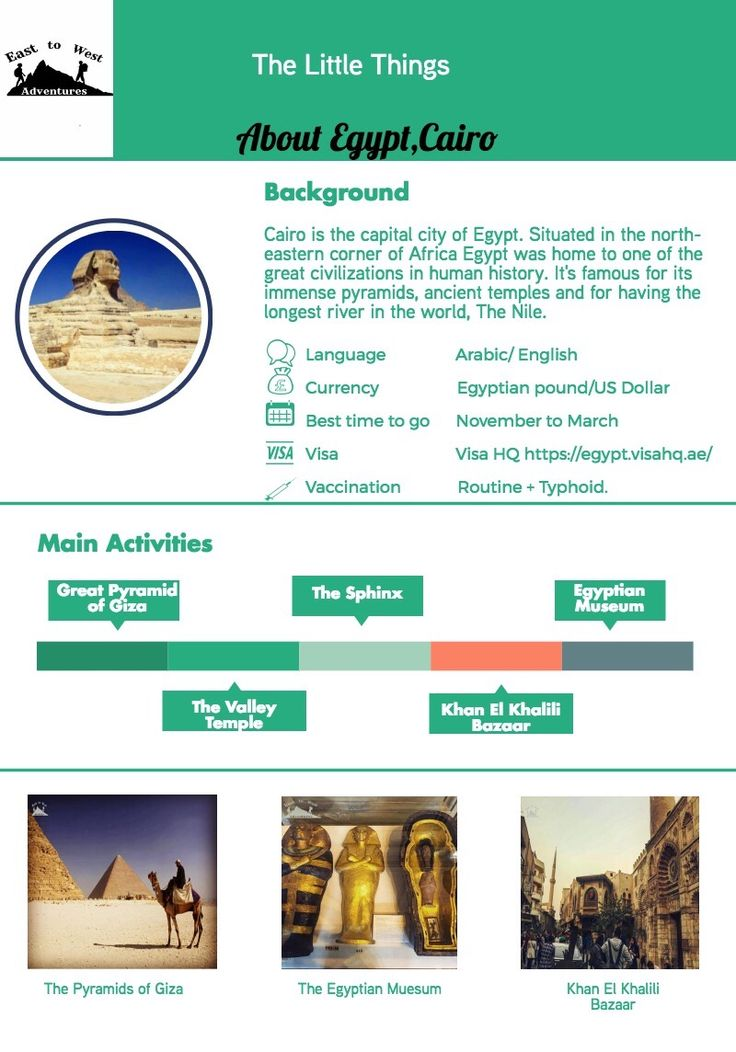 """Everything you need to know about Cario,Egypt  To know more about our trip  ,check the blog """"link""""  #easttowestadventures #travelcheatsheets #egypt #cairo #cheatsheet"""