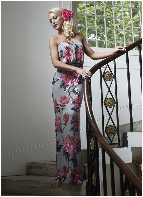 Stephanie Allin 2013 Evening Wear Collection Wedding Guest OutfitsDress