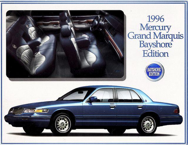 1996 Mercury Grand Marquis Bayshore Edition . Utterly ridiculous, utterly wonderful.