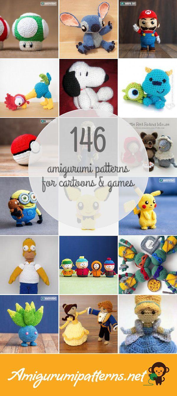 146 Cartoons & Games Amigurumi Patterns - Page 12