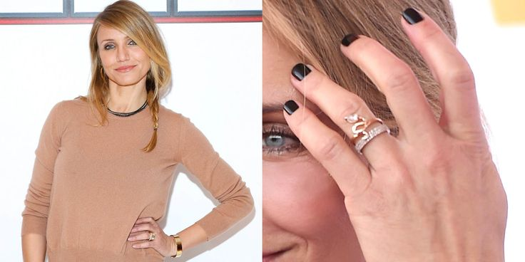 Diaz+married+Benji+Madden+on+January+5,+2015,+but+was+spotted+with+a+sparkler+on+her+ring+finger+in+October+2014.   - HarpersBAZAAR.com
