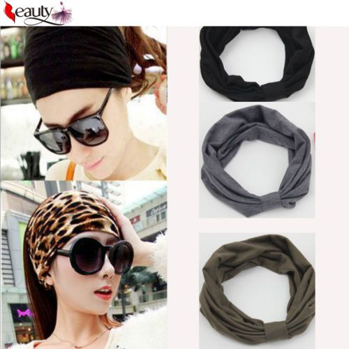 Soft elastic headbands //Price: $6.85 & FREE Shipping //