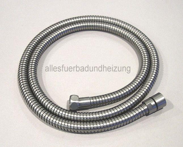 25€ Metall- Brauseschlauch Duschschlauch 145 cm, Nickel gebürstet brushed nickel in Heimwerker, Bad & Küche, Armaturen | eBay!