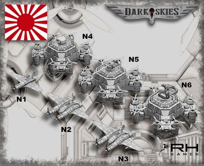 Dark Skies 1942 Arriving On Kickstarter From Resin Horse Games