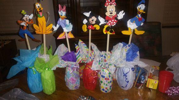 Centro de mesa de Mickey Mouse Clubhouse por Creativity27 en Etsy