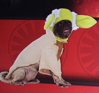 Star Wars YODA Funny Cute Dog Pet Puppy Halloween Costume Outfit  M  NEW
