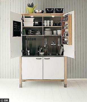 Best Ikea Varde Complete Mini Kitchen In A Cupboard In 640 x 480