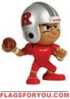 """Rutgers Scarlet Knights Lil' Teammates Series 3 QB 2 3/4"""" tall"""