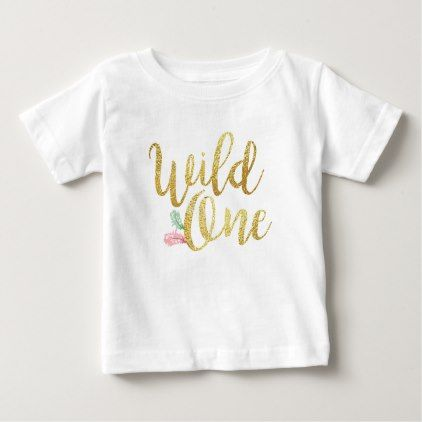 Wild one baby first birthday girl bodysuit t shirt baby birthday wild one baby first birthday girl bodysuit t shirt baby birthday sweet gift idea special customize personalize babies birthday pinterest negle Image collections
