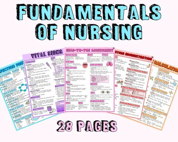 Nursing Fundamentals Study Guide Nursing Notes Etsy In 2021 Fundamentals Of Nursing Nursing Study Guide Nursing Study