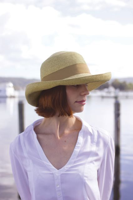 The sophisticated Gigi hat #summer #style #sun