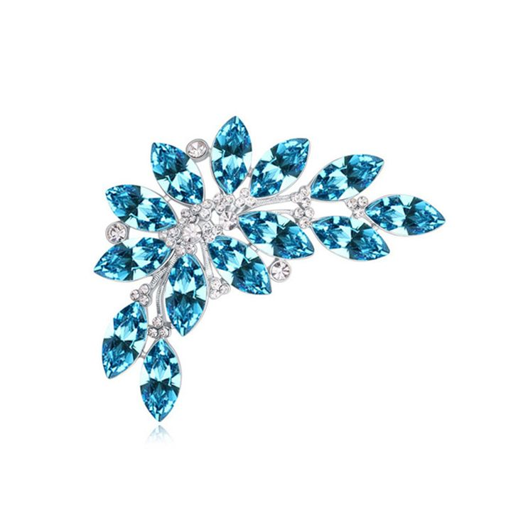 ==> [Free Shipping] Buy Best Designer Luxury Crystal from Swarovski Brooches Popular Vintage Party Jewelry Made with Swarovski Element Women Fashion Brooch Online with LOWEST Price   32295502166