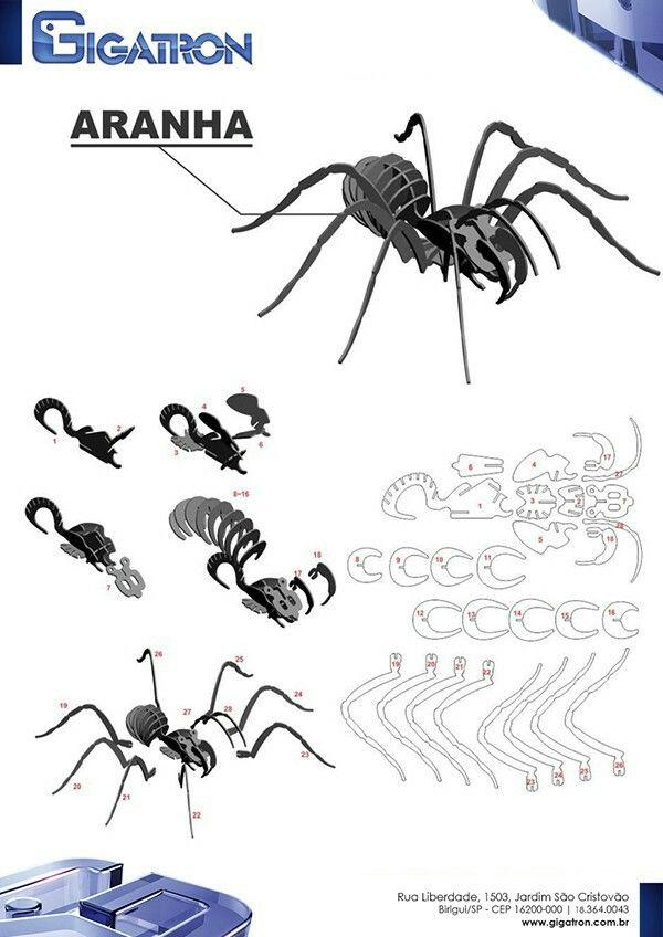 3d паук