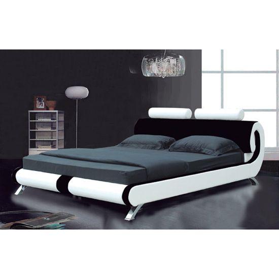 Best Modern Designer Italian Black And White 4Ft 6 Double 640 x 480