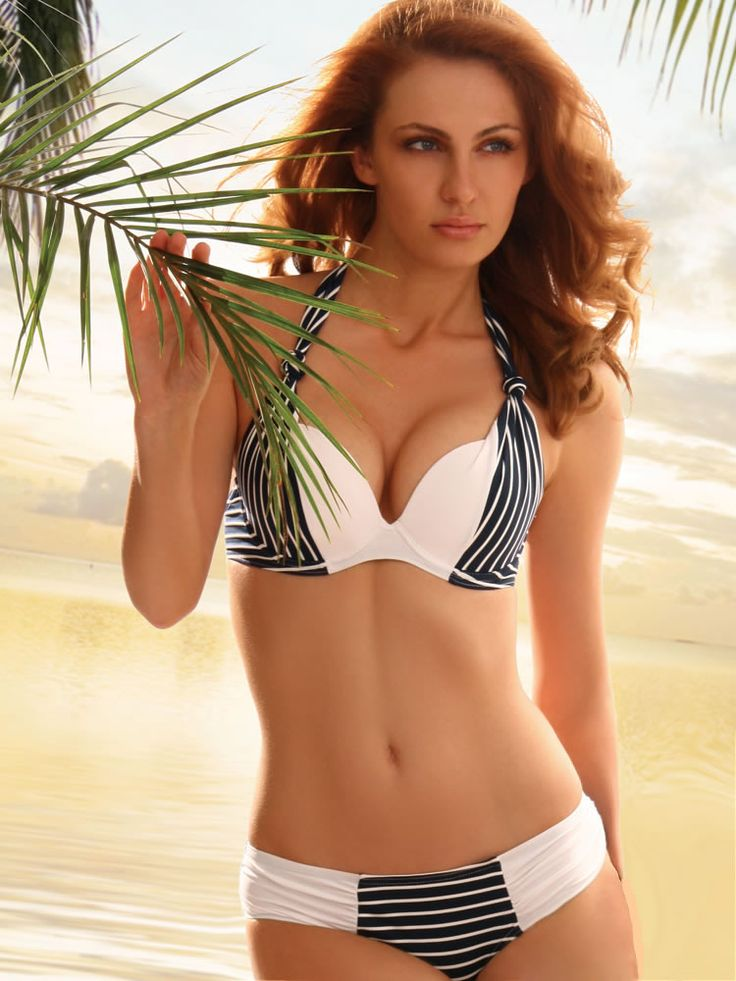Jolidon 2012 Navy Two Piece Underwire Push Up Swimsuit Bikini