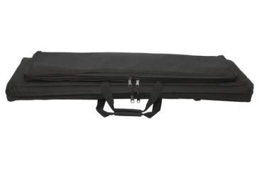 Buy the Outdoor Connection Backpack Tactical Rifle Case 33x12 Inches Black CSTAC58-28123 on sale for a great price at our online store! If you have questions about the Outdoor Connection Backpack Tactical Rifle Case 33x12 Inches Black CSTAC58-28123 or other Soft Gun Cases we sell, contact us to speak with a product expert who can recommend the best Soft Gun Cases for you. Shoulder straps for use as backpack. Modular cases with hook and loop magazine pouches and accessories.