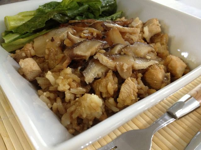Claypot Chicken Rice (Sans Claypot) | Rice Recipes | Pinterest