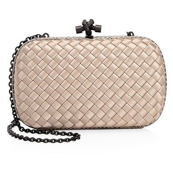 8c27b7430e9c Bottega Veneta Knot Clutch Bag (24 875 ZAR) ❤ liked on Polyvore featuring  bags