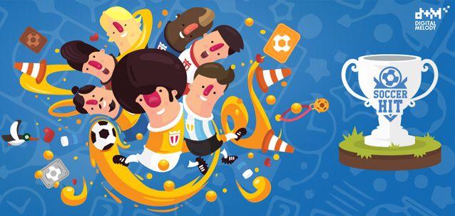 """Soccer Hit - un divertente gioco di calcio """"one touch""""!"""