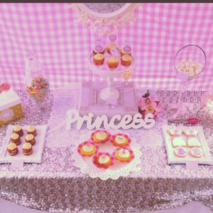 Princess Party styling by @Tickled Pink Celebrations
