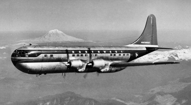 stratocruiser plane   Boeing 377 Stratocruiser