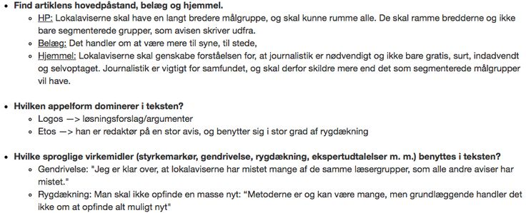 """Analyse af """"Derfor har lokal jornalistikken en stor fremtid"""" - Troels Mylenberg"""
