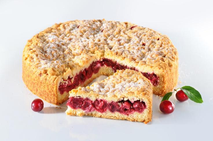 Ciasto wiśniowe. Kliknij w zdjęcie, aby poznać przepis. #ciasta #ciasto #desery #wypieki #cakes #cake #pastries #wisnie #wisnia #wisniowe
