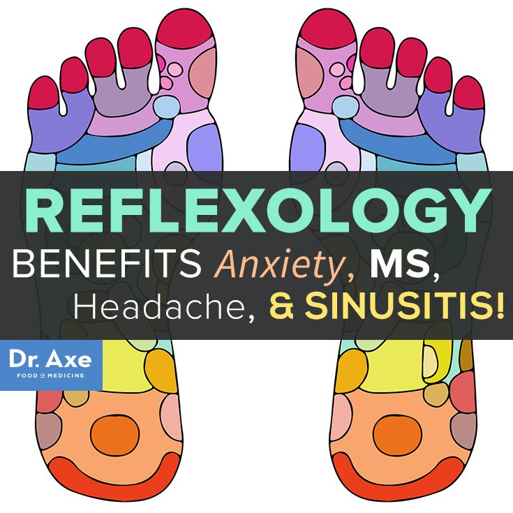 Reflexology Benefits Anxiety, MS, Headache & Sinusitis
