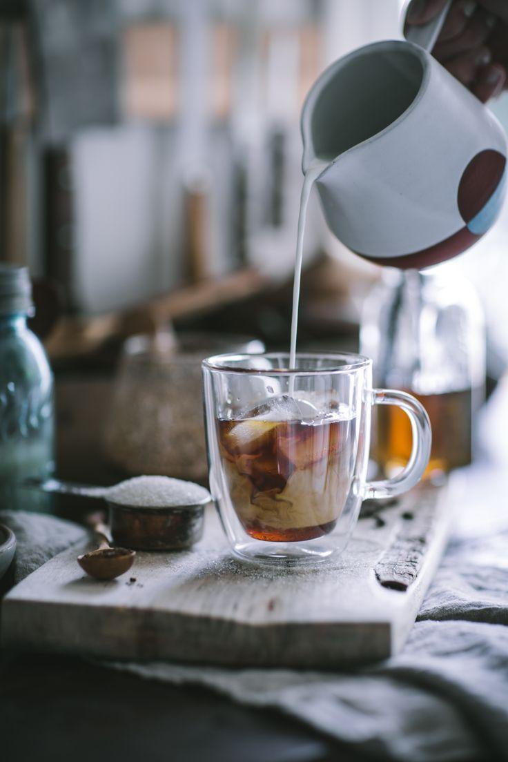 Iced Vanilla latte /