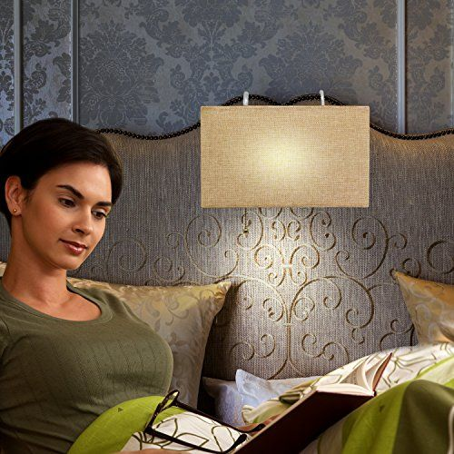 Headboard Reading Lamp, Linen Woven Shade, Sleek Modern D... https://www.amazon.com/dp/B01LZQFF2B/ref=cm_sw_r_pi_dp_x_TQ1pzbKPTA1DR