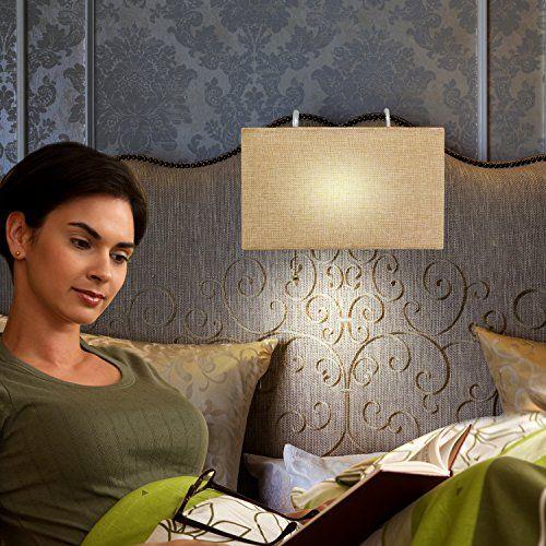 Headboard Reading Lamp, Linen Woven Shade, Sleek Modern D... https://www.amazon.com/dp/B01LZQFF2B/ref=cm_sw_r_pi_dp_x_TQ1pzbKPTA1DR