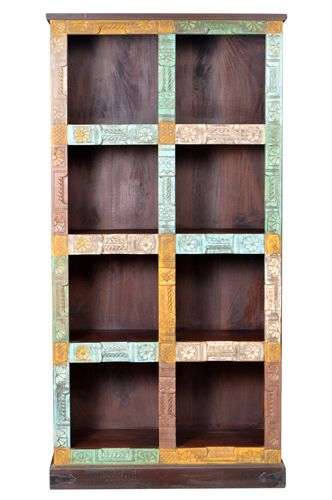 old doors bookshelf